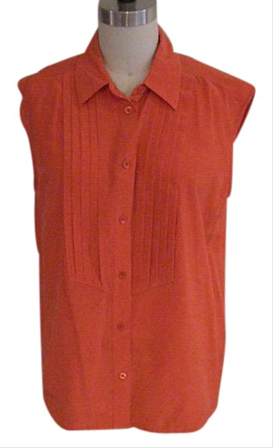 Preload https://item3.tradesy.com/images/equipment-orange-button-down-top-size-4-s-21572492-0-1.jpg?width=400&height=650