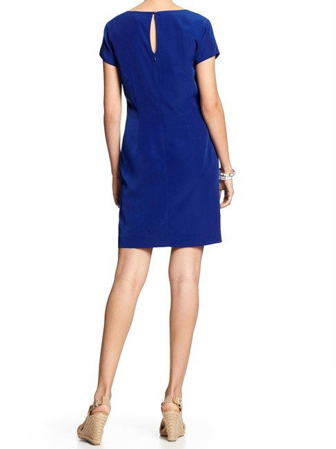 Banana Republic short dress Cobalt Blue Shift Pattern on Tradesy
