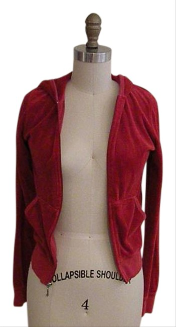 Preload https://item5.tradesy.com/images/juicy-couture-red-velour-jacket-size-4-s-21572554-0-1.jpg?width=400&height=650
