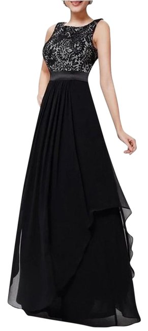 Preload https://img-static.tradesy.com/item/21572569/black-floor-length-lace-long-casual-maxi-dress-size-6-s-0-1-650-650.jpg