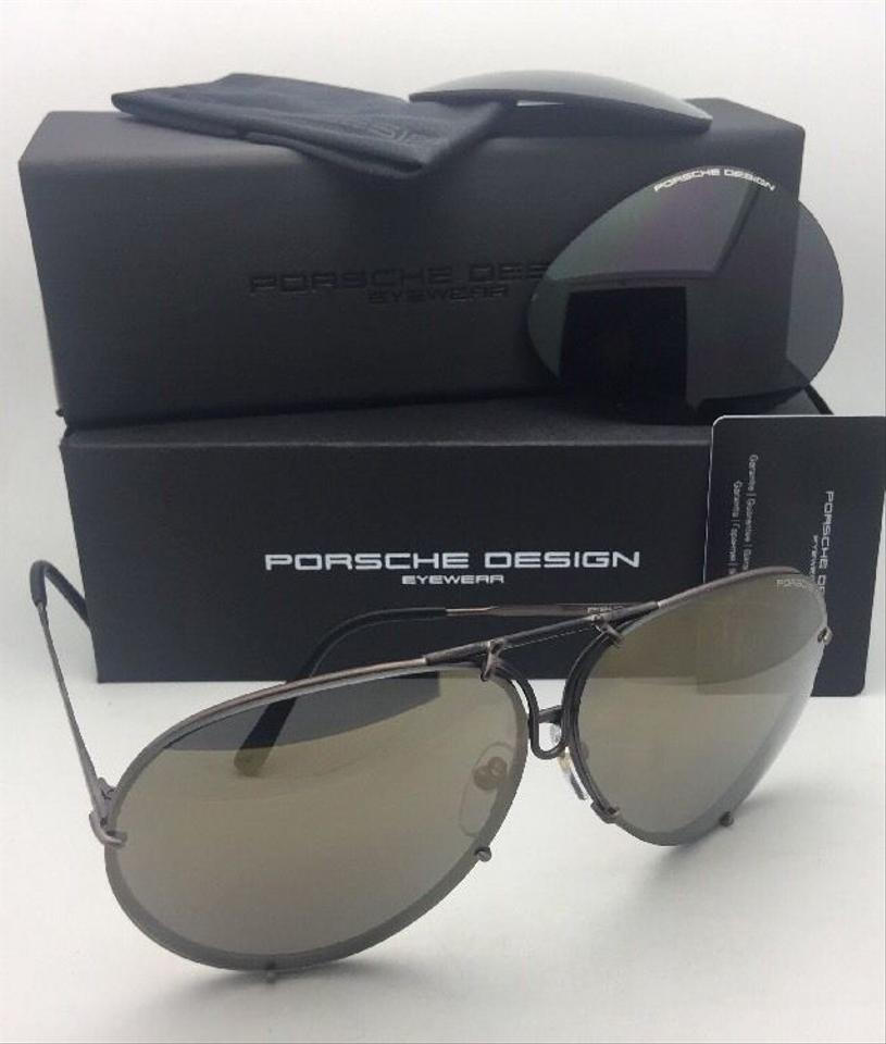 PORSCHE DESIGN Titanium Aviator P 8478 E 69-10 Copper W Mirrored ... ce72f9692da