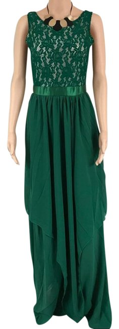 Preload https://img-static.tradesy.com/item/21572701/others-follow-green-full-length-lace-casual-maxi-dress-size-4-s-0-1-650-650.jpg