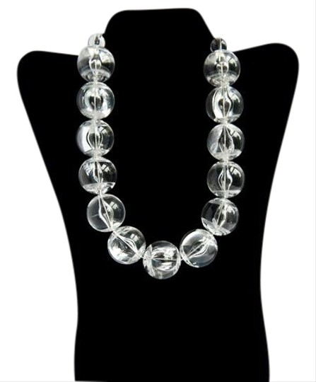 Preload https://img-static.tradesy.com/item/21572723/synthetic-clear-beads-big-plastic-ball-statement-necklace-0-1-540-540.jpg