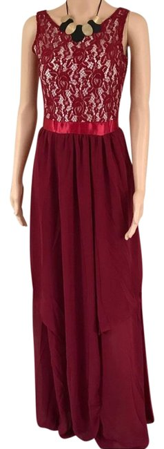 Preload https://item3.tradesy.com/images/red-full-length-lace-long-casual-maxi-dress-size-6-s-21572732-0-1.jpg?width=400&height=650