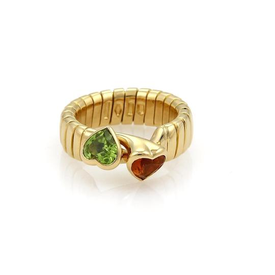 Preload https://item3.tradesy.com/images/bvlgari-yellow-gold-orange-green-gems-150ct-citrine-and-peridot-hearts-18k-tubogas-hook-ring-21572757-0-0.jpg?width=440&height=440