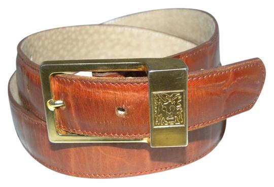 Preload https://img-static.tradesy.com/item/21572842/anne-klein-cognac-vintage-croc-stamp-leather-belt-0-1-540-540.jpg