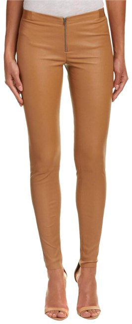Preload https://img-static.tradesy.com/item/21572898/alice-olivia-camel-front-zip-leggings-size-2-xs-26-0-4-650-650.jpg