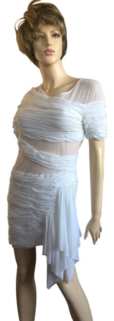 Preload https://item1.tradesy.com/images/bcbgmaxazria-white-runway-collection-short-cocktail-dress-size-8-m-21572930-0-1.jpg?width=400&height=650