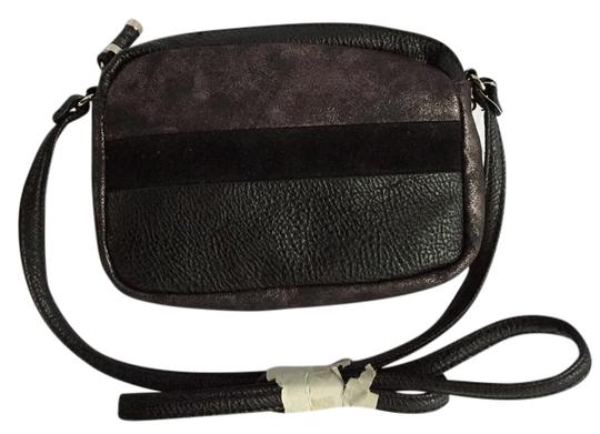 Preload https://item2.tradesy.com/images/jessica-simpson-pebbled-black-faux-leather-and-faux-suede-cross-body-bag-21573011-0-1.jpg?width=440&height=440