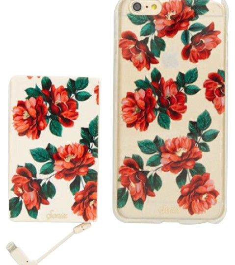 Preload https://item1.tradesy.com/images/red-floral-portable-charger-and-phone-case-tech-accessory-21573035-0-1.jpg?width=440&height=440