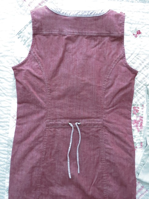 Royal Robbins Denim Sleeveless Knee-length Transitional Dress