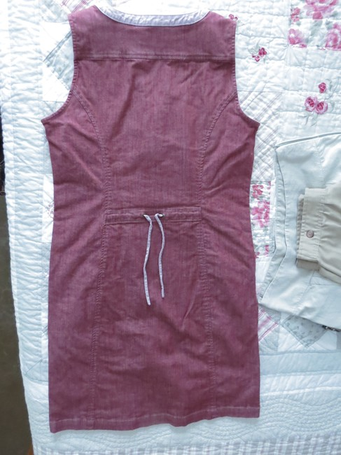 Royal Robbins short dress Brick red denim Muted Office-appropriate Comfy on Tradesy