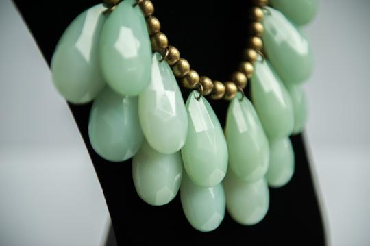 Anthropologie Siythetic green stone Necklace