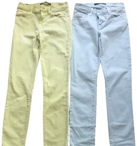 J Brand Colored Skinny Jeans-Coated