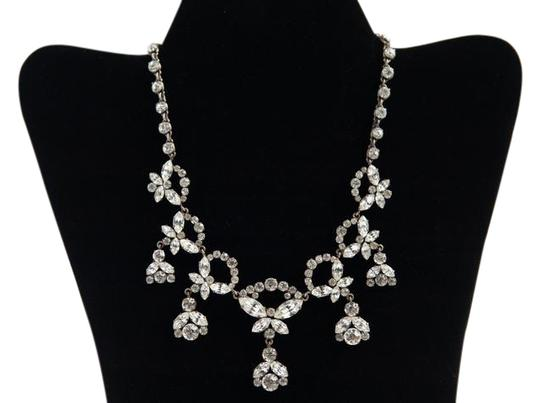 Preload https://img-static.tradesy.com/item/21573632/silver-tone-brass-vintage-with-crystals-rhinestone-necklace-0-1-540-540.jpg