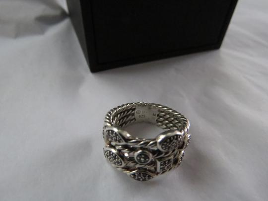 David Yurman Confetti Collection - Confetti Ring with Black Diamonds