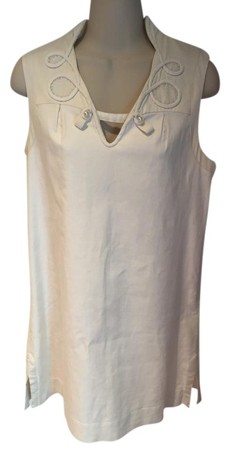 Preload https://item2.tradesy.com/images/mayle-cream-almost-new-short-casual-dress-size-6-s-21573726-0-1.jpg?width=400&height=650