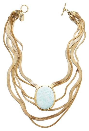 Preload https://item2.tradesy.com/images/anthropologie-stone-layered-necklace-21573931-0-3.jpg?width=440&height=440