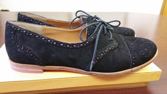 Dolce Vita black with pink accents Flats