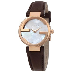 Gucci Gucci Interlocking MOP Dial Swiss Automatic Authentic Ladies Watch