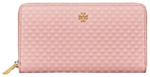 Tory Burch Tory Burch Marion Embossed Multi-Gusset Zip Continental Wallet