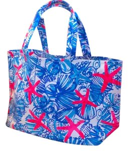 Lilly Pulitzer Tote in Blue/white