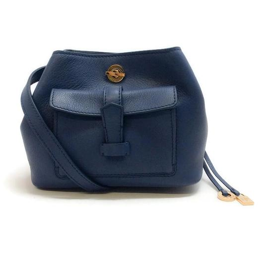 Preload https://item2.tradesy.com/images/loro-piana-mini-globe-bandouliere-blue-leather-cross-body-bag-21574376-0-1.jpg?width=440&height=440