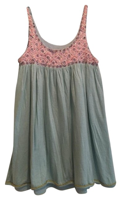 Preload https://item5.tradesy.com/images/manoush-light-blue-sequins-in-pink-sweet-w-top-mid-length-cocktail-dress-size-4-s-21574624-0-2.jpg?width=400&height=650