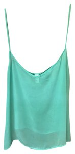 American Apparel Top Turquoise