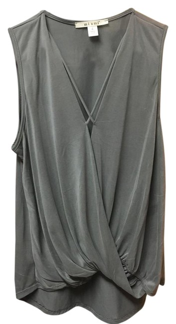 Preload https://item4.tradesy.com/images/gray-janella-x-neck-tank-night-out-top-size-12-l-21574688-0-1.jpg?width=400&height=650
