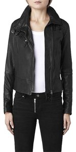 AllSaints Leather Motorcycle Motorcycle Jacket