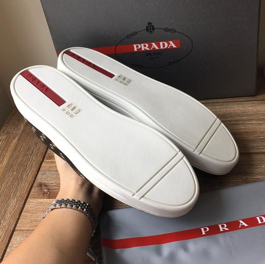 Prada black silver Athletic