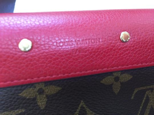 Louis Vuitton 2014 Louis Vuitton Monogram Pallas Red wallet