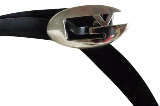 Versace Vintage Versace Leather Belt, Size 34