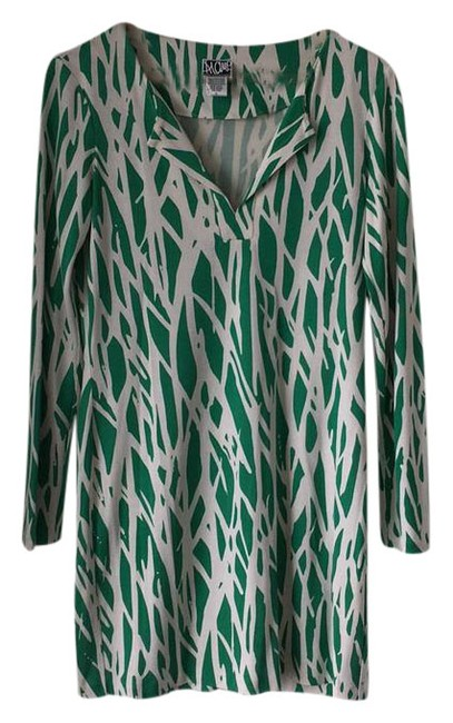 Preload https://item3.tradesy.com/images/diane-von-furstenberg-green-dvf-heritage-collection-twig-mini-short-night-out-dress-size-6-s-21574877-0-1.jpg?width=400&height=650