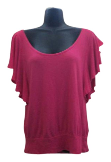 Preload https://item3.tradesy.com/images/express-pink-blouse-size-6-s-21574982-0-1.jpg?width=400&height=650