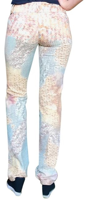 Preload https://img-static.tradesy.com/item/21575152/multicolored-light-wash-women-s-pants-trousers-gold-floral-print-straight-leg-jeans-size-28-4-s-0-1-650-650.jpg