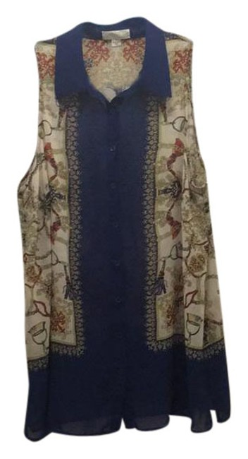 Preload https://item3.tradesy.com/images/forever-21-blue-scarf-pattern-translucent-tunic-size-20-plus-1x-21575197-0-1.jpg?width=400&height=650