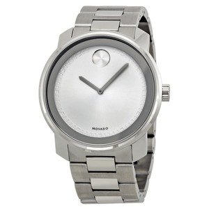 Movado Movado Bold Silver Dial Stainless Steel Quartz Authentic Men's Watch