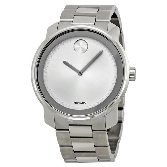 Preload https://item1.tradesy.com/images/movado-silver-tone-bold-dial-stainless-steel-quartz-men-s-watch-21575260-0-0.jpg?width=440&height=440
