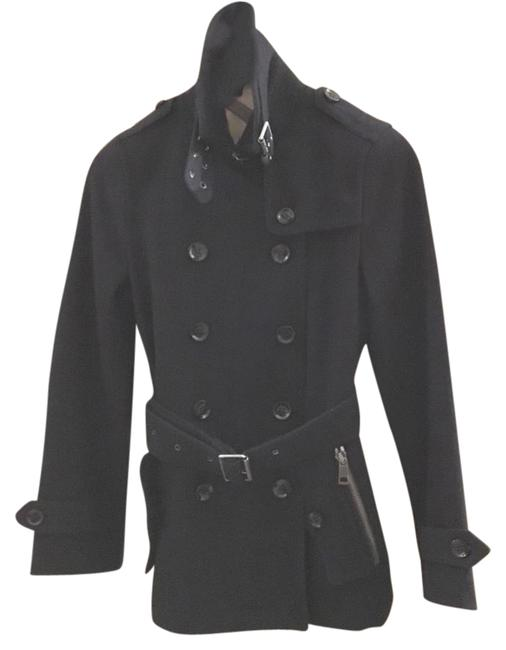 Preload https://item3.tradesy.com/images/burberry-brit-navy-wool-belted-pea-coat-size-4-s-21575337-0-1.jpg?width=400&height=650