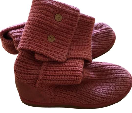 Preload https://item5.tradesy.com/images/ugg-australia-pink-classic-cardy-bootsbooties-size-us-8-regular-m-b-21575344-0-1.jpg?width=440&height=440