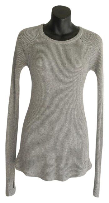 Preload https://img-static.tradesy.com/item/21575481/lululemon-gray-ribbbed-great-stretch-sweater-activewear-top-size-4-s-27-0-1-650-650.jpg