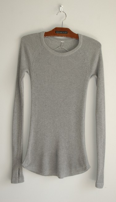 Lululemon ribbbed great stretch long sleeve sweater