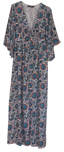 Preload https://item3.tradesy.com/images/ark-and-co-blue-teal-orange-ds20246-kimono-long-casual-maxi-dress-size-6-s-21575532-0-1.jpg?width=400&height=650