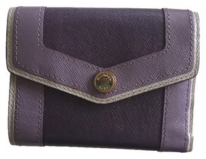 Michael Kors Michael Kors Plum Leather Wallet