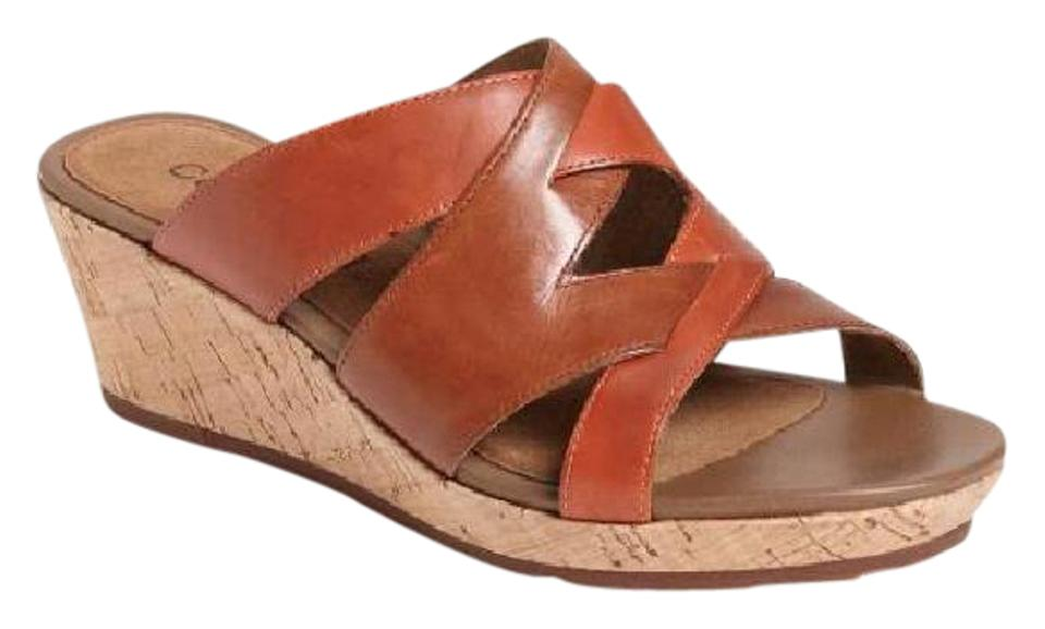 hot sale online 56121 db907 Cobb Hill Comfortable brown Mules Image 0 ...
