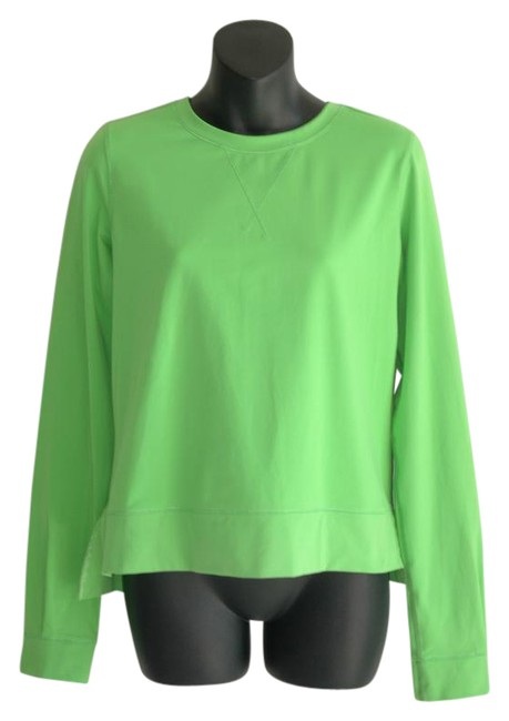 Preload https://item5.tradesy.com/images/lululemon-green-sweater-pull-over-luon-back-zip-activewear-top-size-8-m-29-30-21575609-0-1.jpg?width=400&height=650