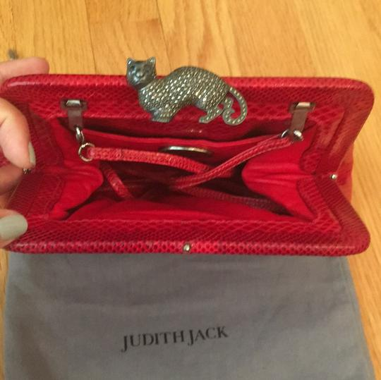 Judith Jack red Clutch