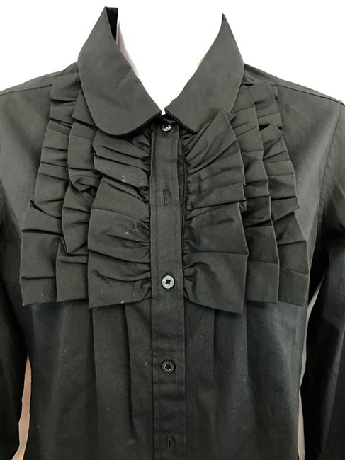 Paula Cahen D'Anvers Black Button Down Shirt